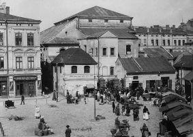 Przemyśl, Plac Rybny, koniec XIX w.